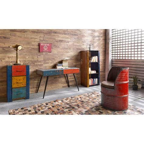 red oil drum chair seat industrial urban seating