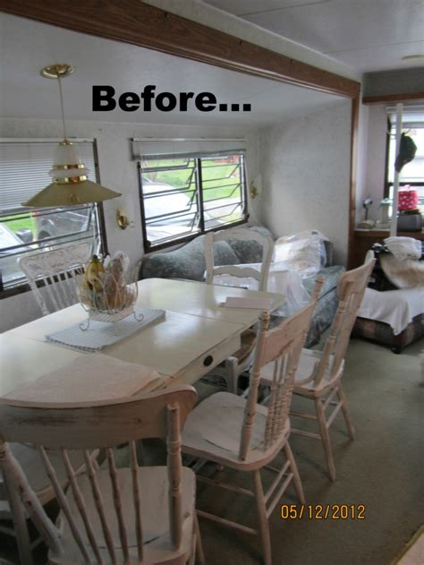 Decorating Mobile Homes | mobile home decorating beach style makeover