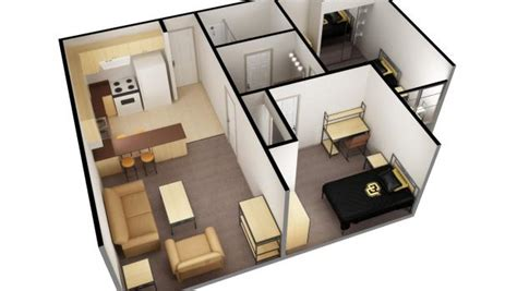 two bedroom one bath apartments 2 bed 1 bath single apartment bear creek apartments