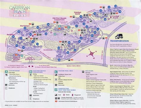 caribbean resort map walt disney world pictures from caribbean resort in wdw