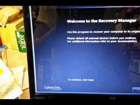 how to ║ restore reset a compaq presario cq56 to factory