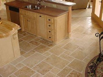 tile floors in kitchen travertine cleaning sealing polishing and restoration