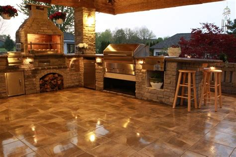 Small Outdoor Kitchen Designs by Outdoor Kitchens Amp Our Wood Fire Grill Memphis Grills