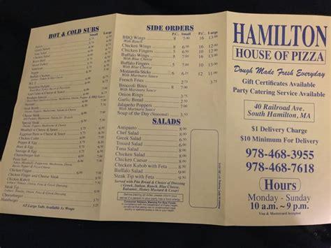 hamilton house of pizza hamilton house of pizza 24 recensioni pizzerie 40 railroad ave hamilton ma