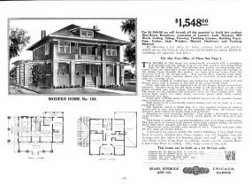 american foursquare floor plans 1900 sears homes and plans plans modern home no 158