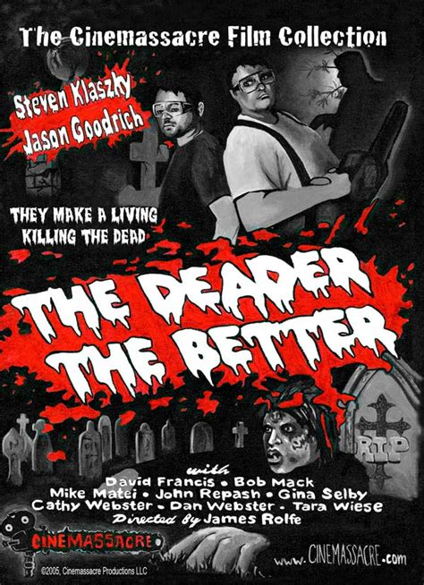 which is better or dvd the deader the better on dvd cinemassacre productions