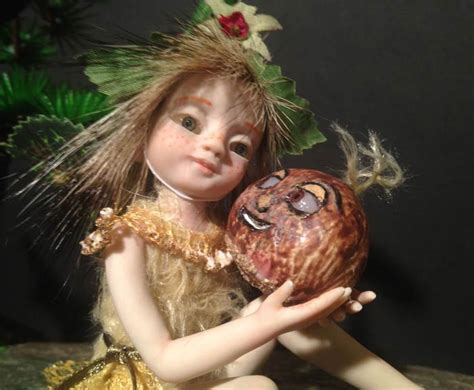 Malika Sweet ooak baby fairie pixie malika and the sweet chestnut