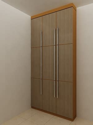 Lemari Kayu Panel interior home lemari baju furniture design