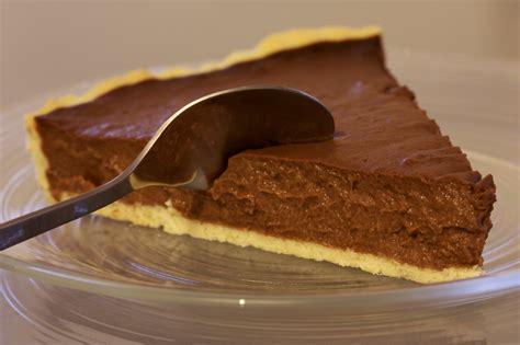 Cioccolato Chocolate crostata con ganache al cioccolato la forchetta d argento