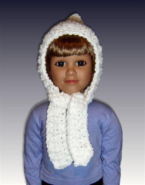 knitting patterns hat scarf combination pdf knitting pattern pixie hat scarf combo my twinn 23
