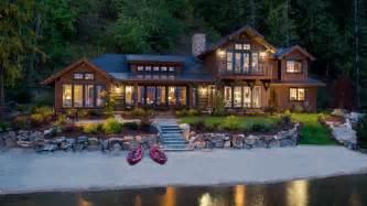lake house mountain architects hendricks architecture idaho lake