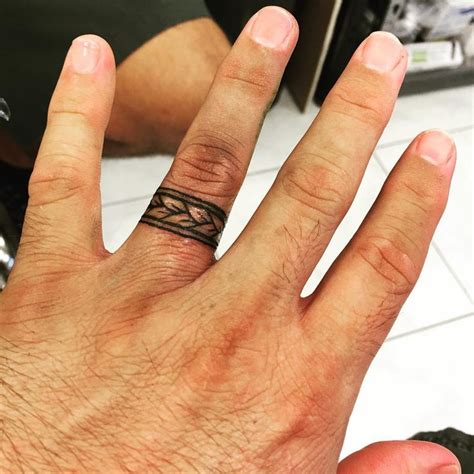 wedding tattoos for men the 25 best wedding band ideas on ring