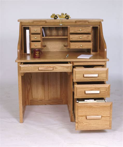 Unfinished Furniture Hutch Amish Rolltop Desk