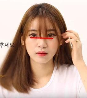 tutorial rambut tipis gaya rambut artis korea ini bikin kamu ingin potong poni