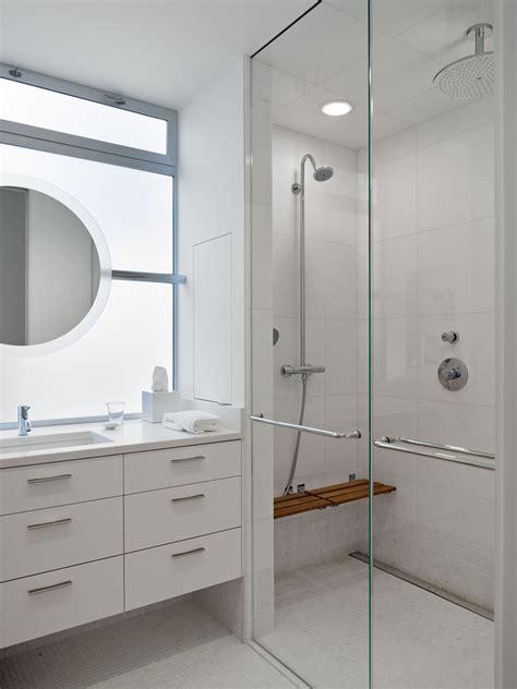 modern shower bench floating shower bench bathroom modern with glass shower