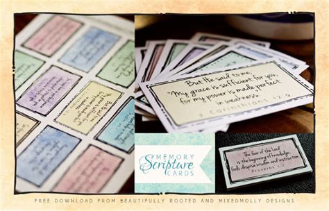 Pretty Scripture Memory Card Templates by Free Scripture Memory Cards Printable Bible Based