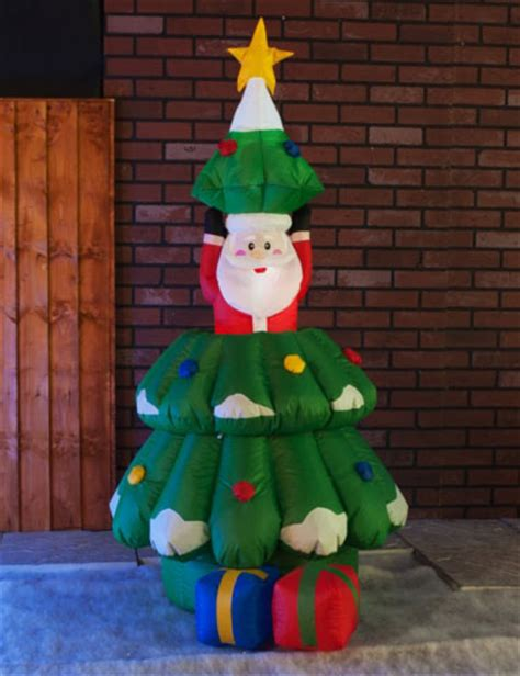 yolloy blow up inflatables arch with christmas tree for sale