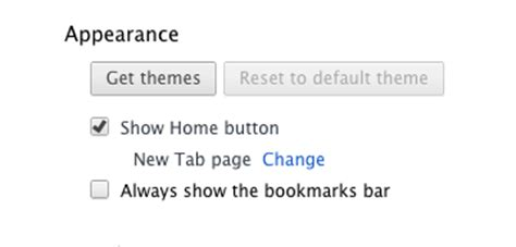 how to get home button on chrome address bar