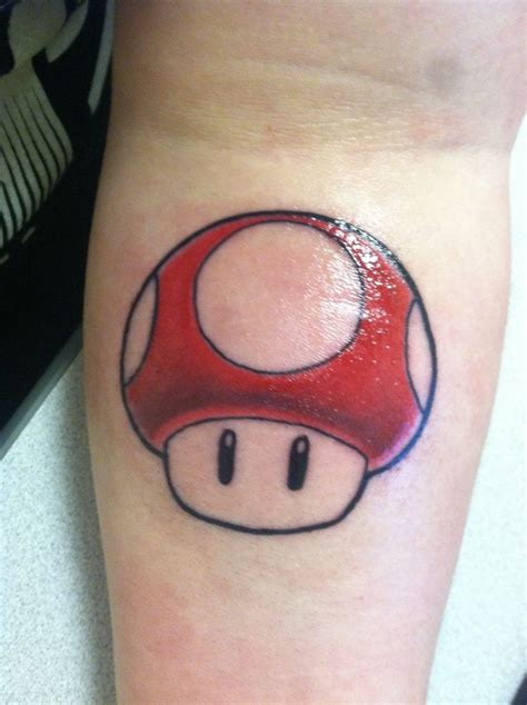 mario mushroom tattoo 106 best tatoo inspirations images on
