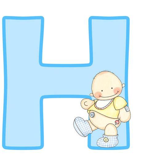 letras de baby shower para imprimir letras may 250 sculas para imprimir de beb 233 letra h letra