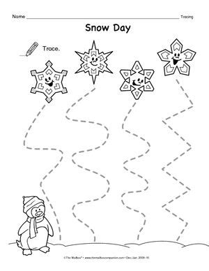 Theme Line Winter | tracing lines preschool worksheets google search a