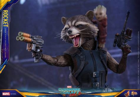 Toys Cosbaby Rocket Raccoon Guardians Of The Galaxy Vol 2 toys rocket raccoon deluxe baby groot up for order marvel news