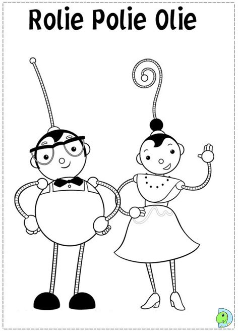 free rollie pollie ollie coloring pages