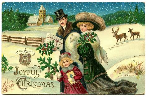 images of victorian christmas cards 19th century historical tidbits victorian christmas card