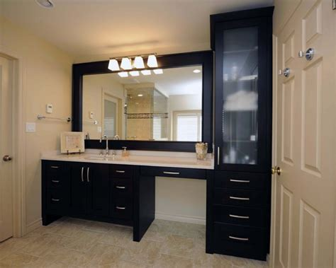 counter height bathroom vanities sink makeup vanity same height love the drawers and