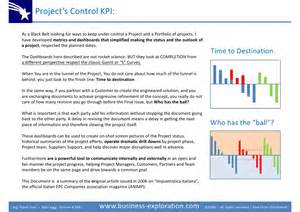 kpi key performance indicator for project manufacturing management