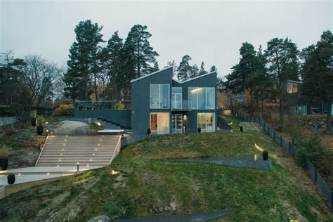 Modern Lake House In Sweden Category 187 Scandinavian Lake House