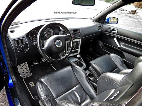 R32 Golf Interior by 2004 Volkswagen Mk4 Golf R32 Used Car Review Mind Motor