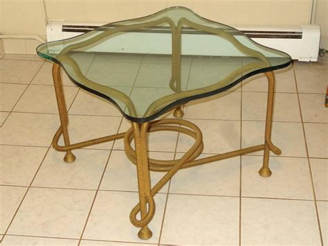 Rope Table L Beaded Rope Table For Sale At 1stdibs