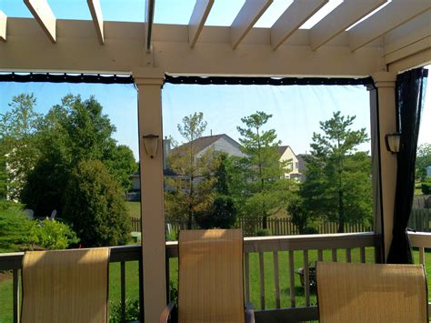 Pergola Mosquito Curtains Pergolas Outdoor Living With Archadeck Of Chicagoland