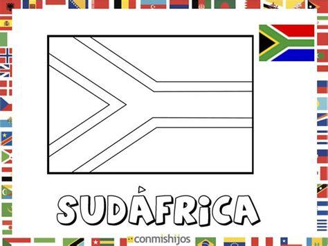 dibujos de banderas del mundo para imprimir bandera de sud 225 frica dibujos de banderas para pintar