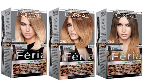 L Oreal Feria Ombre how to use l or 233 al s f 233 ria ombr 233 kit to create ombr 233