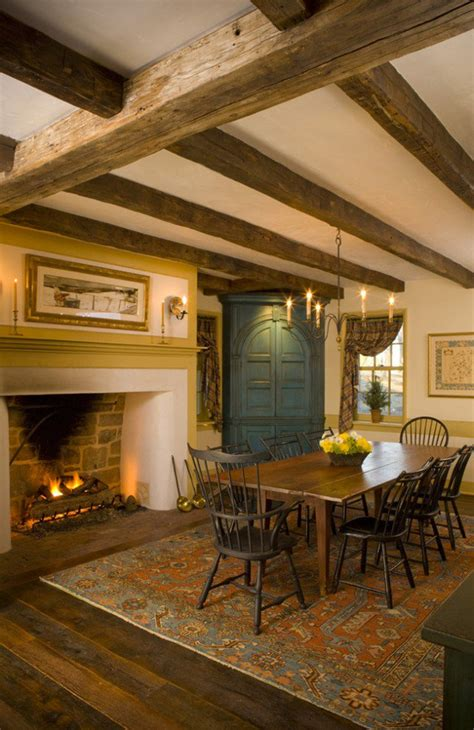 Rustic Dining Room Fireplace 15 Warm Cozy Rustic Dining Room Designs For Your Cabin