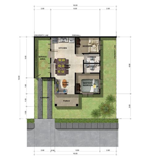 bungalow ground floor plan narra park residences well planned community with