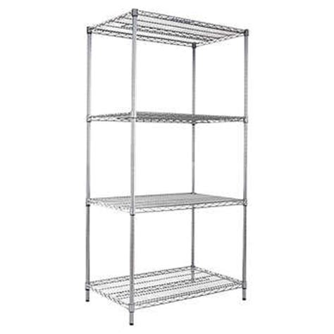 costco wire shelving alera 4 shelf wire shelving rack 36 quot x 24 quot x 72 quot nsf black anthracite