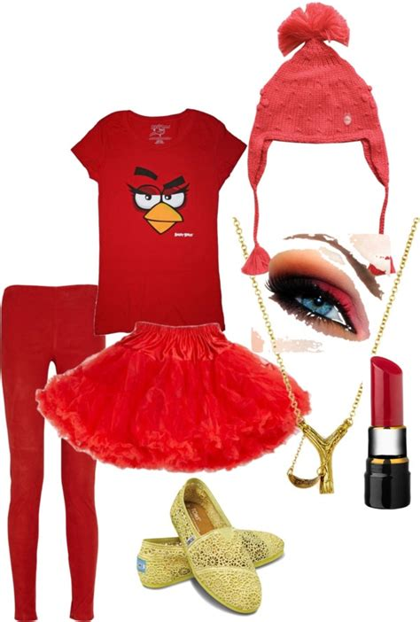 Dress Marv quot angry bird costume quot by mik marv on polyvore everything angry