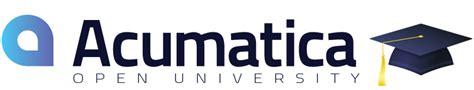 online tutorial open university acumatica open university acumatica online tutorials and