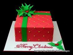 christmas gift box fondant cake cake dessert ideas on cakes cakes and snowman cake