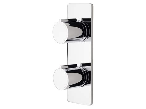 milli bathroom products milli axon twin shower mixer chrome from reece