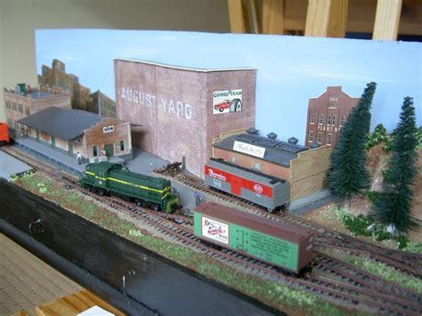 N Scale Shelf Layout by August Yard An N Scale Shelf Layout Model Railroading