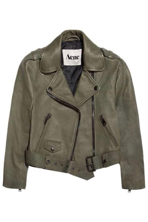 Ebc Acne acn 233 khaki chaquetas chaqueta cuero y
