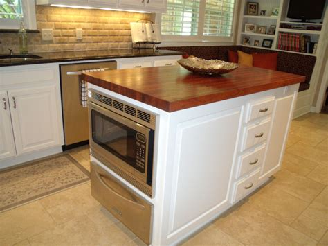 kitchen island counters mesquite custom wood countertops butcher block