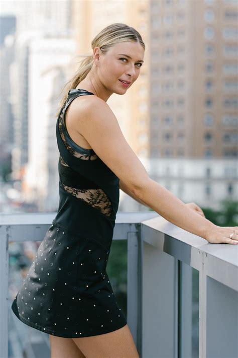White Gray Pliskova Skirt vogue exclusive sharapova riccardo tisci and
