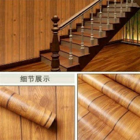 jual wallpaper dinding motif kayu  lapak niicesticker