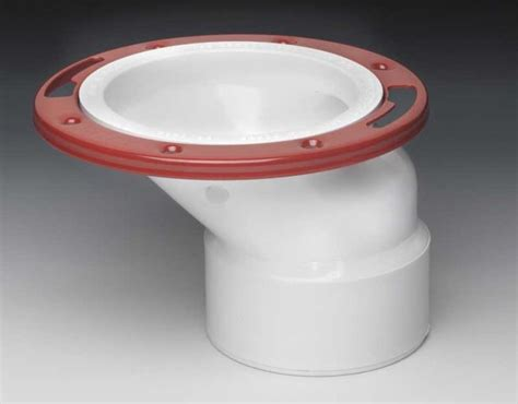how to install an offset toilet flange
