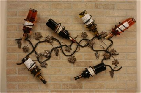 decorative wall wine racks how to choose a wine rack for a small space